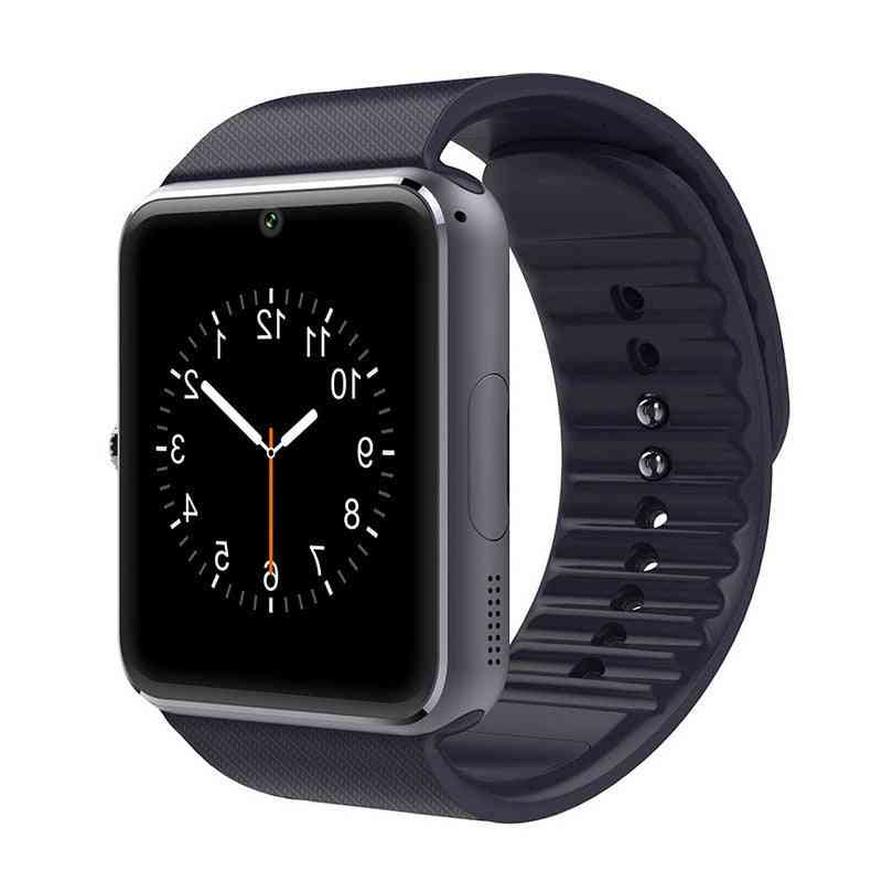 Gt08 Bluetooth Smart Bracelet Support Sim Tf Card With Clock