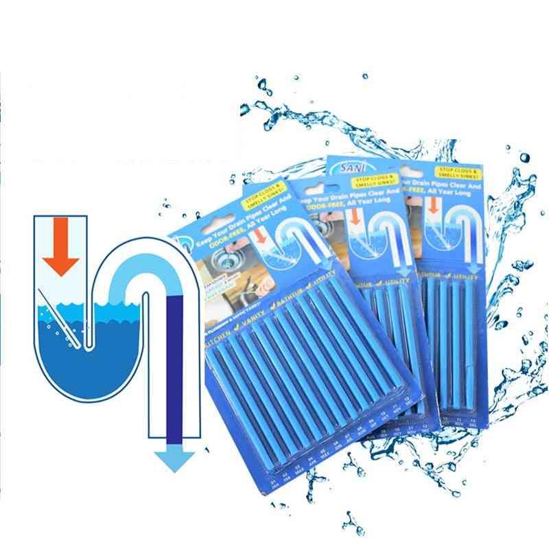 12/set Sani Sticks Oil Decontamination Bathtub Drain Cleaner Sewer Cleaning Rod