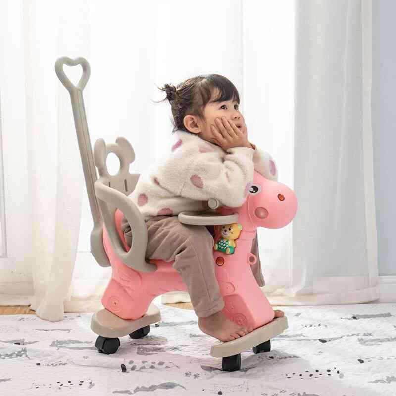 Infant Shining Animal Multi-functional Rocking Chair