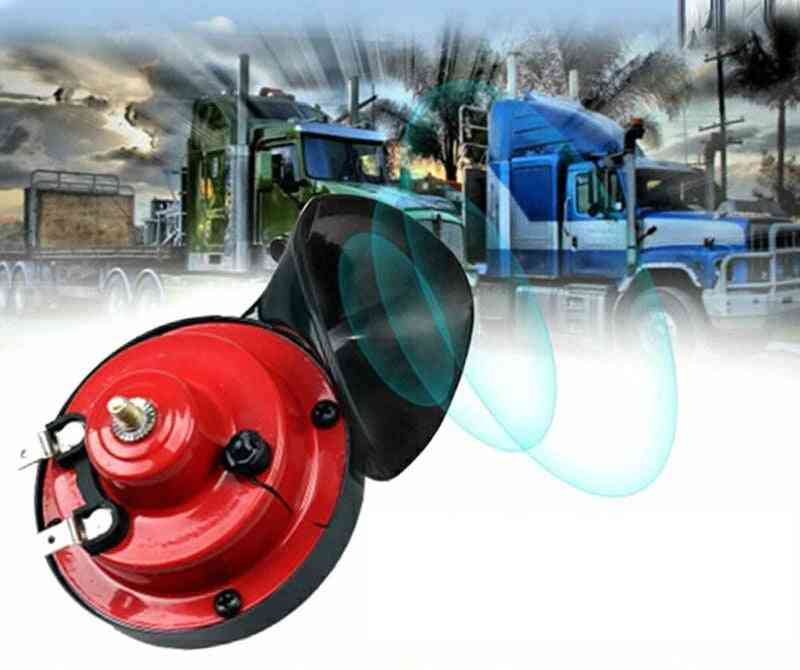 New Electric Car Horn 12v Loud Monophonic Snail Super Train For Trucks Suv Boat Motorcycles Accessories