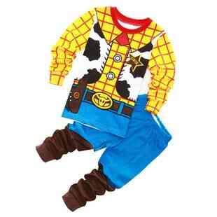 Cartoon Cotton 2-7y Kids Pajamas Sets