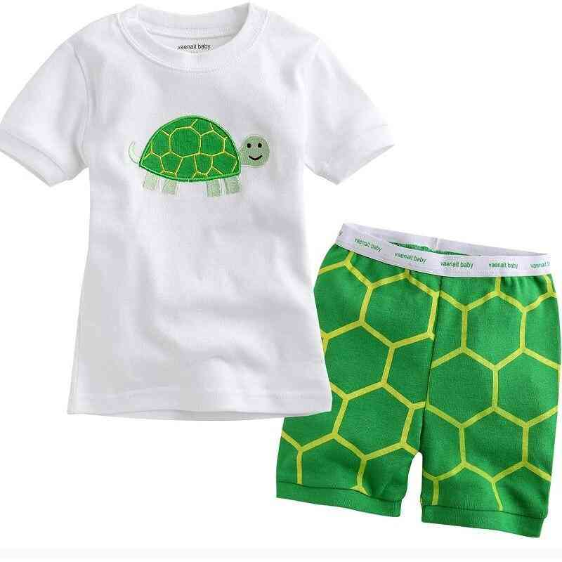 Children's Pyjamas Clothing Sets - Kids Summer Cartoon Pyjamas