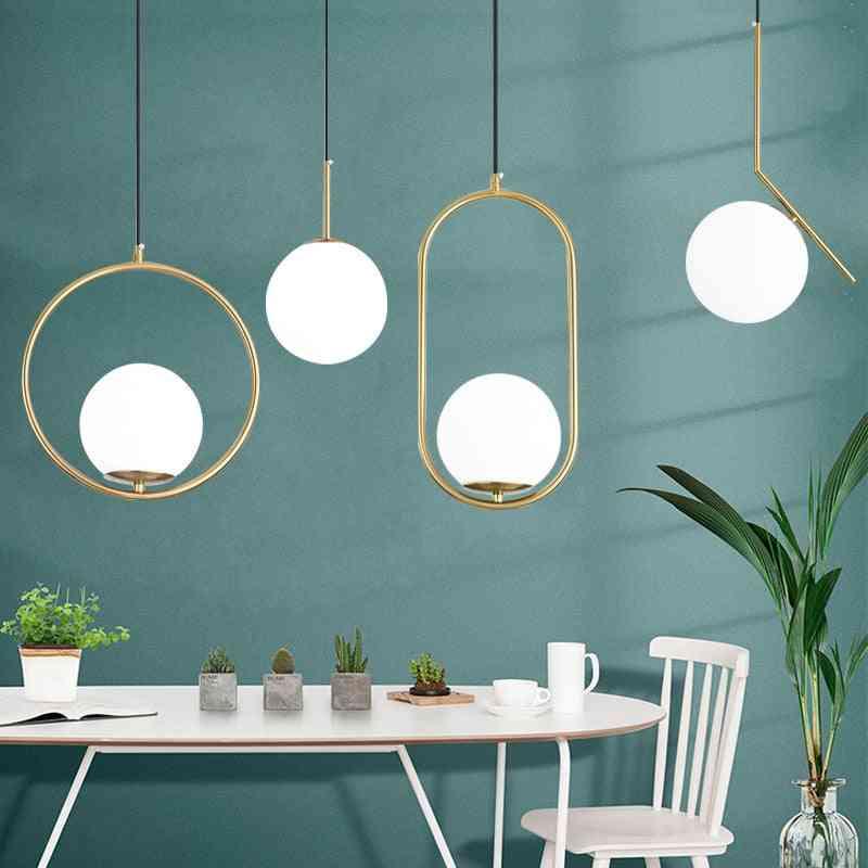 Nordic Modern Pendant Light Minimalist Living Room Dining Kitchen Lamp