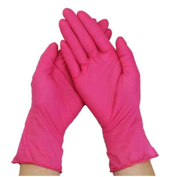 20/50/100pcs Disposable Nitrile Gloves Beauty Hair Dye Gloves