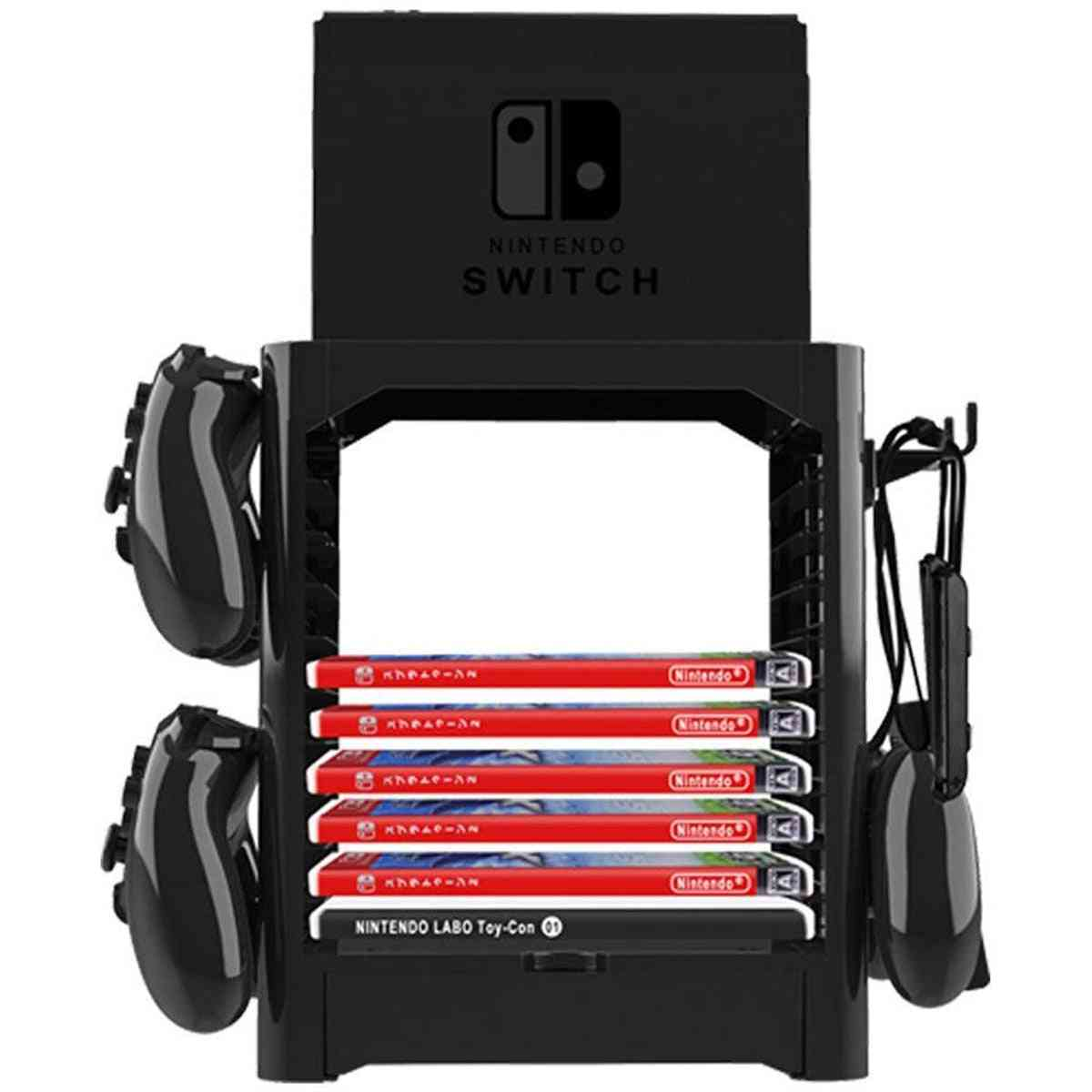 Game Disc Card Tower Controller Holder