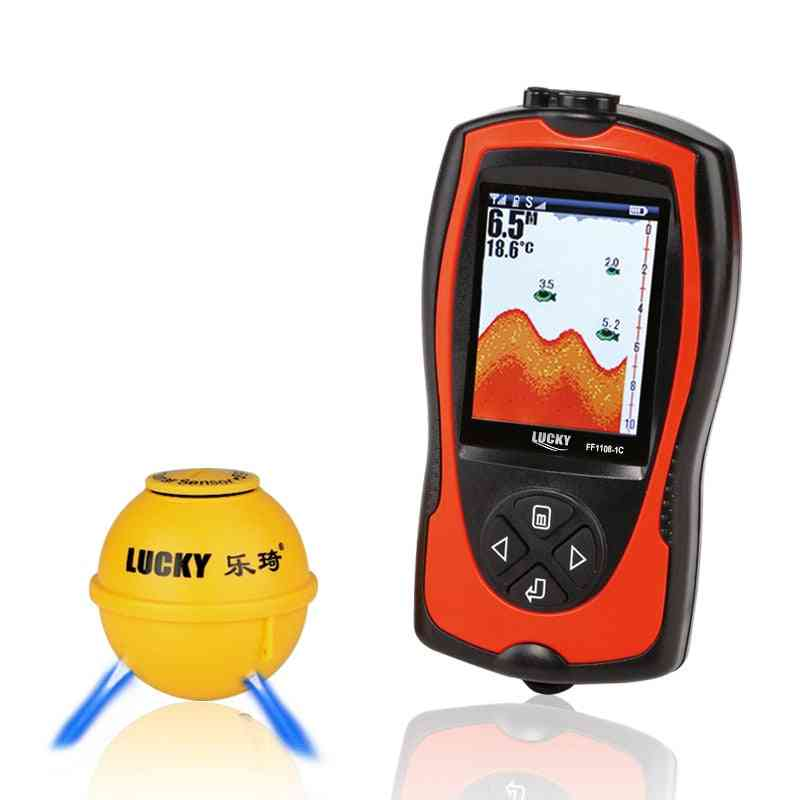 Lucky Fish Finder Wireless Echos Sounder, Fishing Deeper