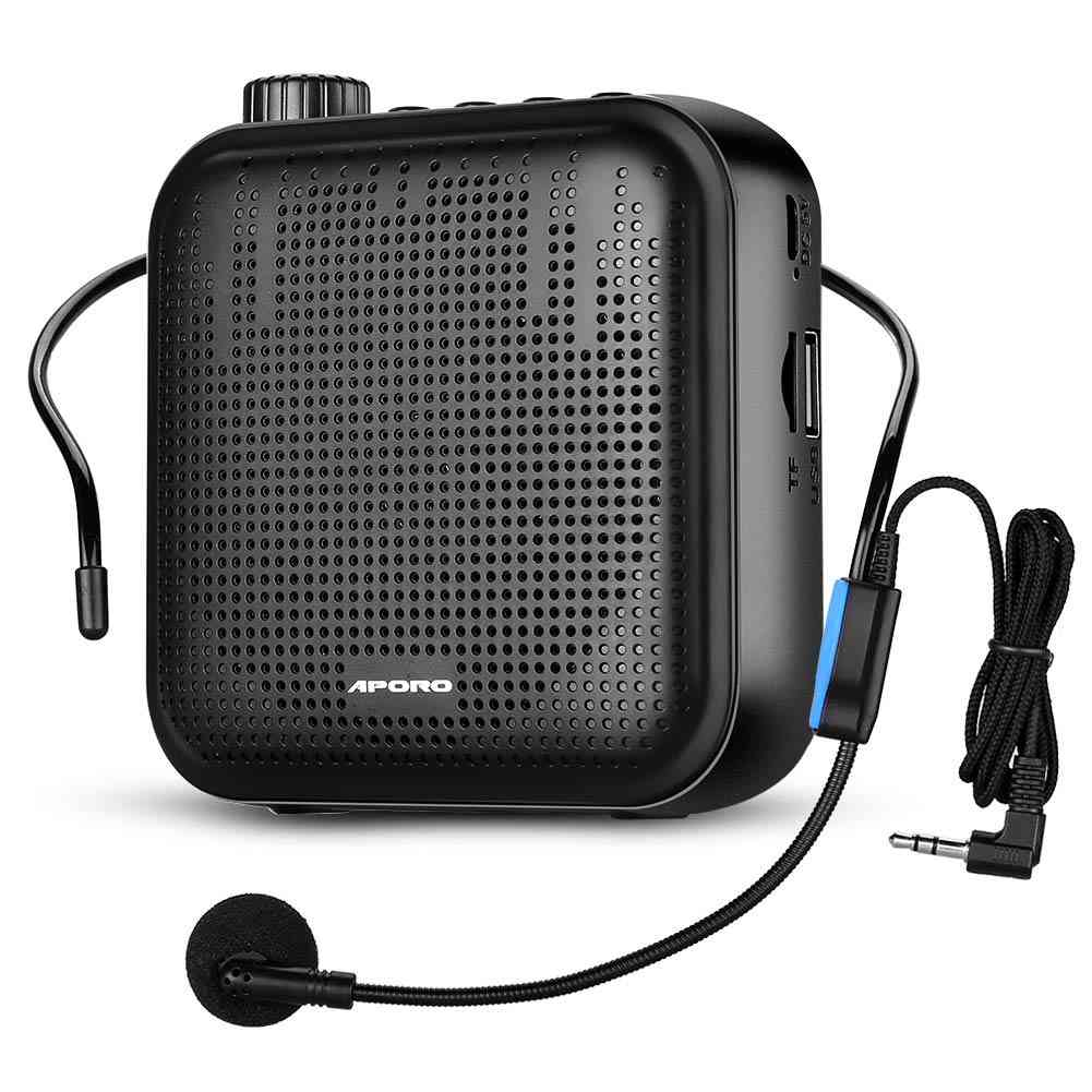 Portable Voice Amplifier U-disk  Microphone Mp3 Player