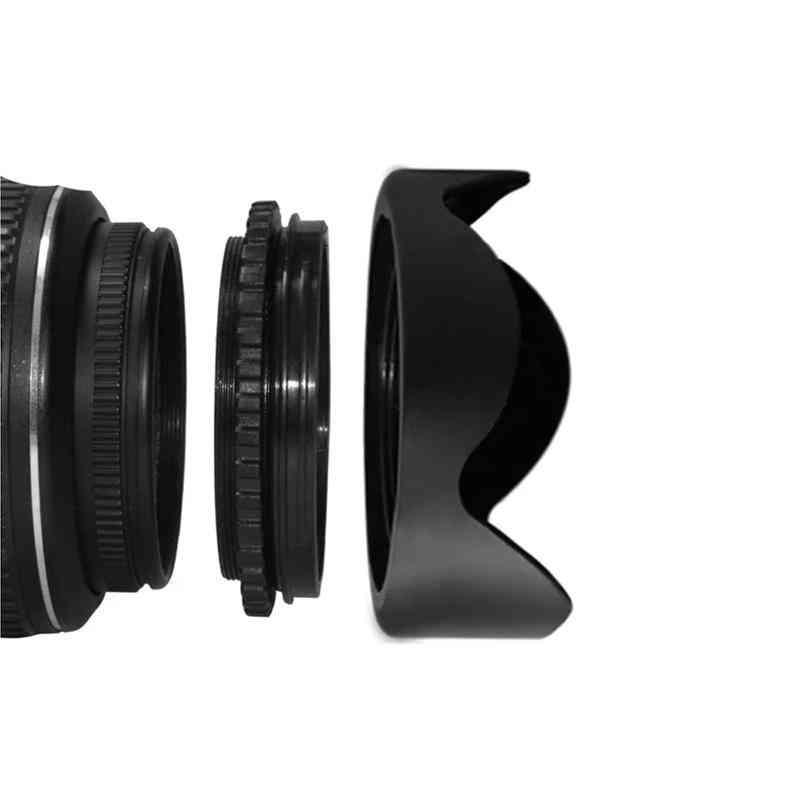 Reversible Petal Flower Lens Hood For Canon Nikon Sony Pentax Dsir Camera