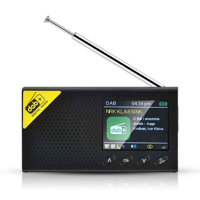 Portable Bluetooth Digital Radio  Fm Receiver Rechargeable