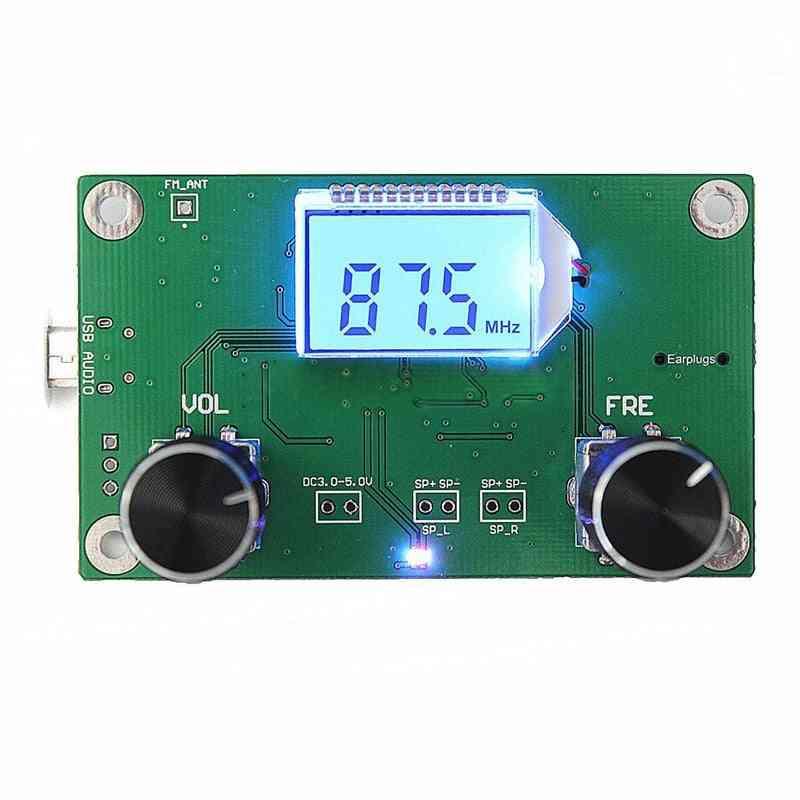 Digital Fm Radio Receiver Module Serial Control
