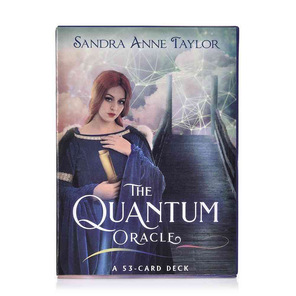 The Quantum Oracle Tarot Card
