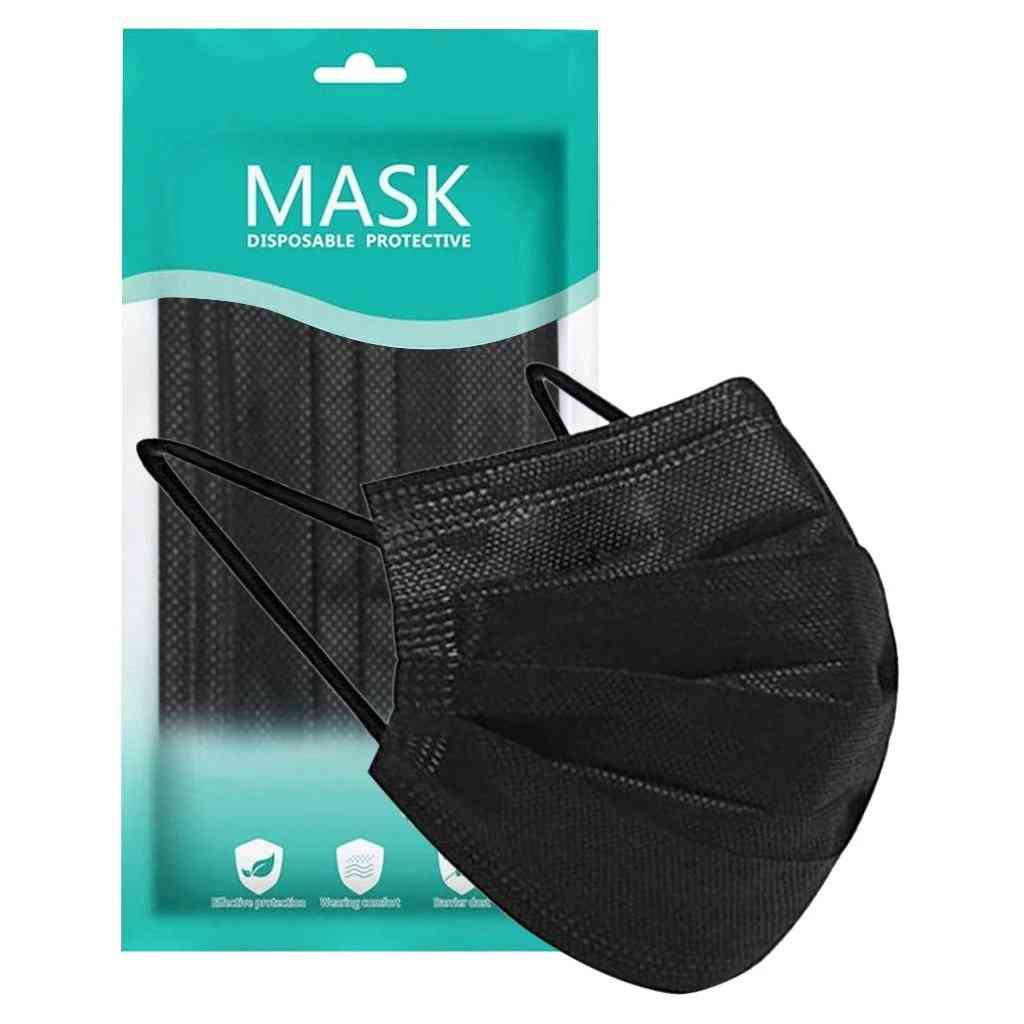 Disposable Face Mask, Skin Care, 3ply Non-woven Cloth, Ear Loop Masks