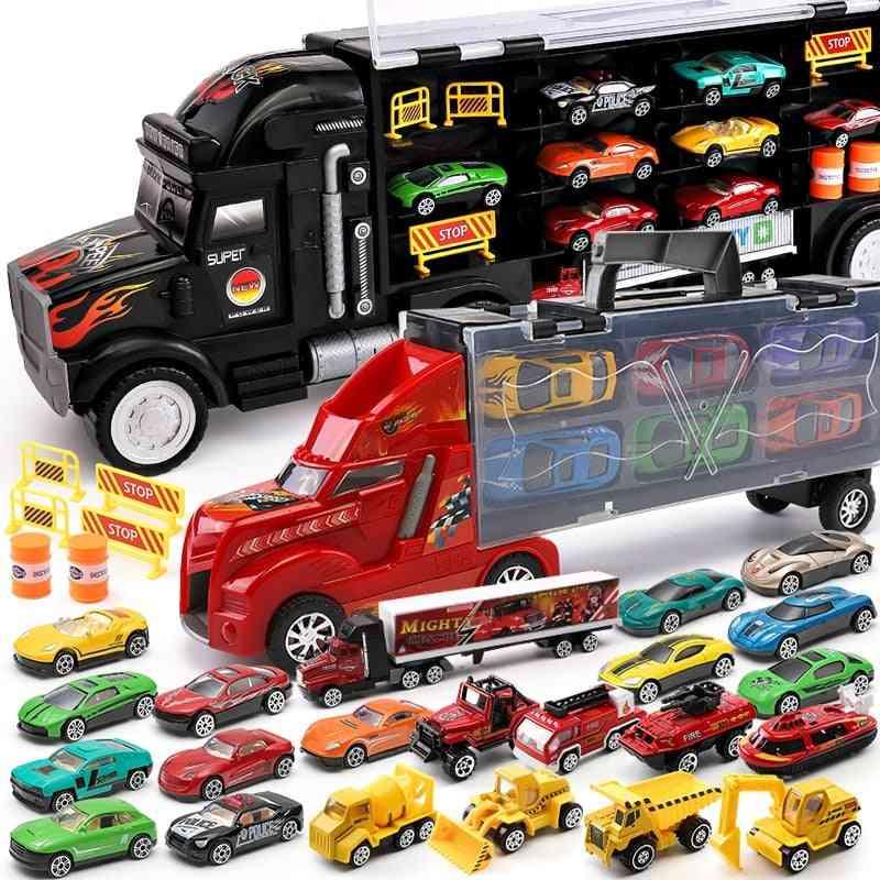 Hotwheels Truck Storage Box Car  Toy