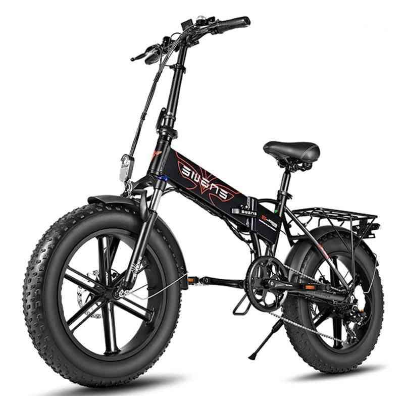 Electric Bike Fat Tire Snow Powerful Electric Bicycle 39km/h Mountain