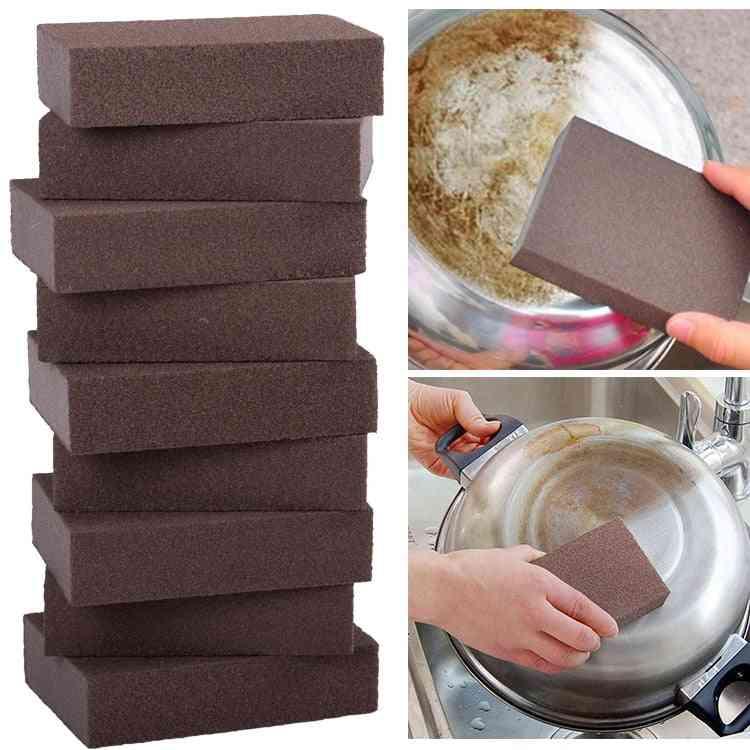 Carborundum Sponge- Remove Dirt And Rust Sponge For Kitchen Cleaning Brush Accessories