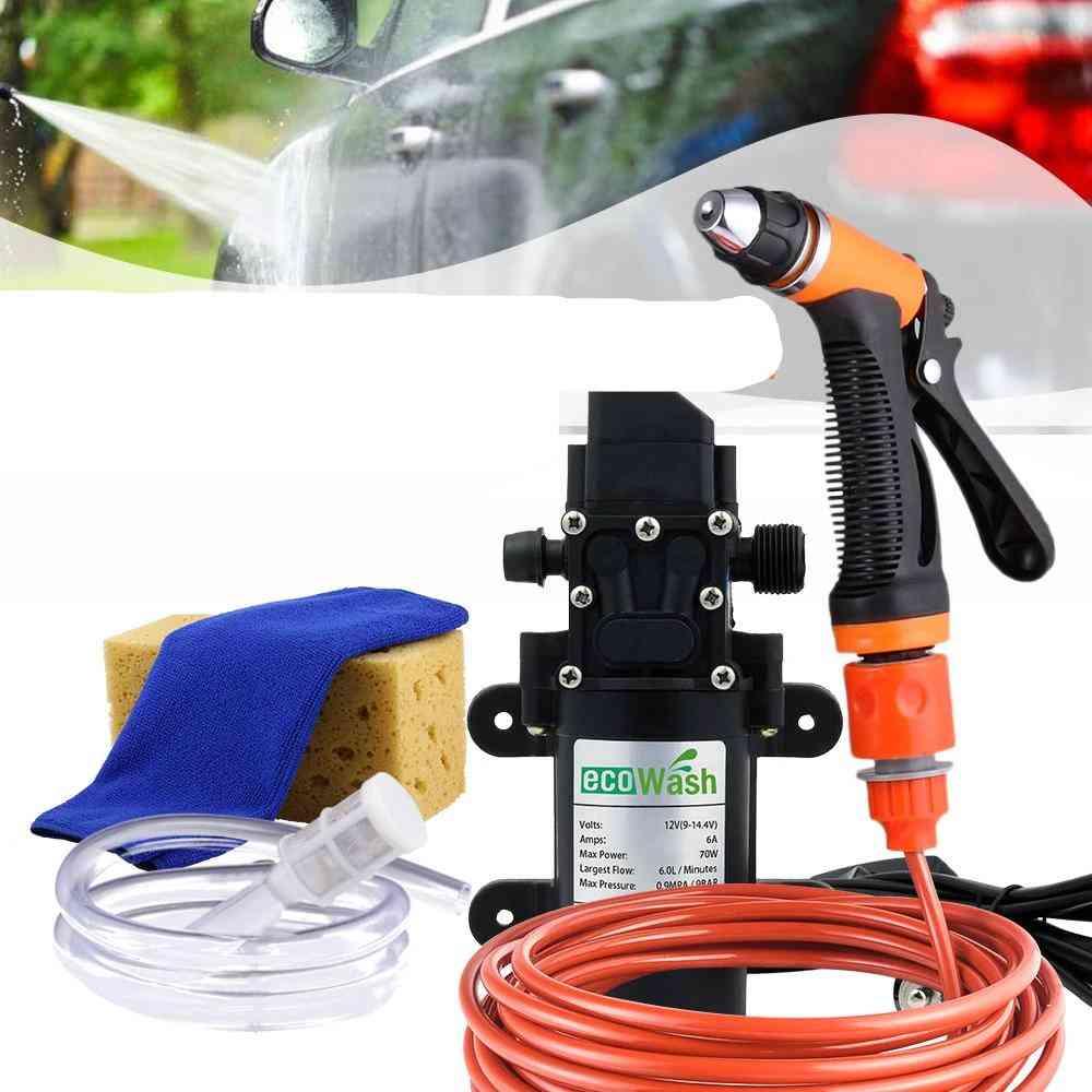 12v Car Wash Car Washer Gun Pump