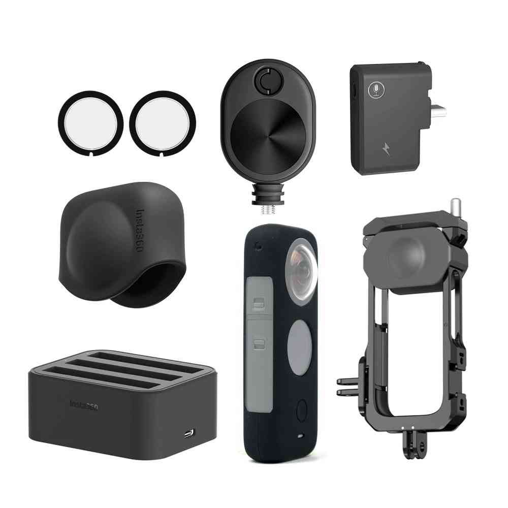 X2 Lens Guards /mic Adapter Utility Frame Accessories