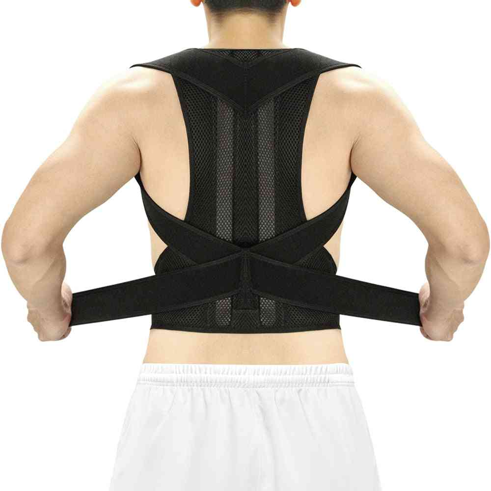 Posture Corrector Back Brace Clavicle Support Stop Slouching And Hunching Trainer