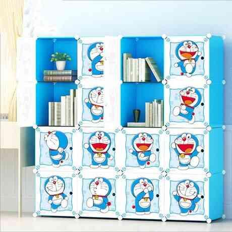 Wardrobes Cartoon Storage Cabinet