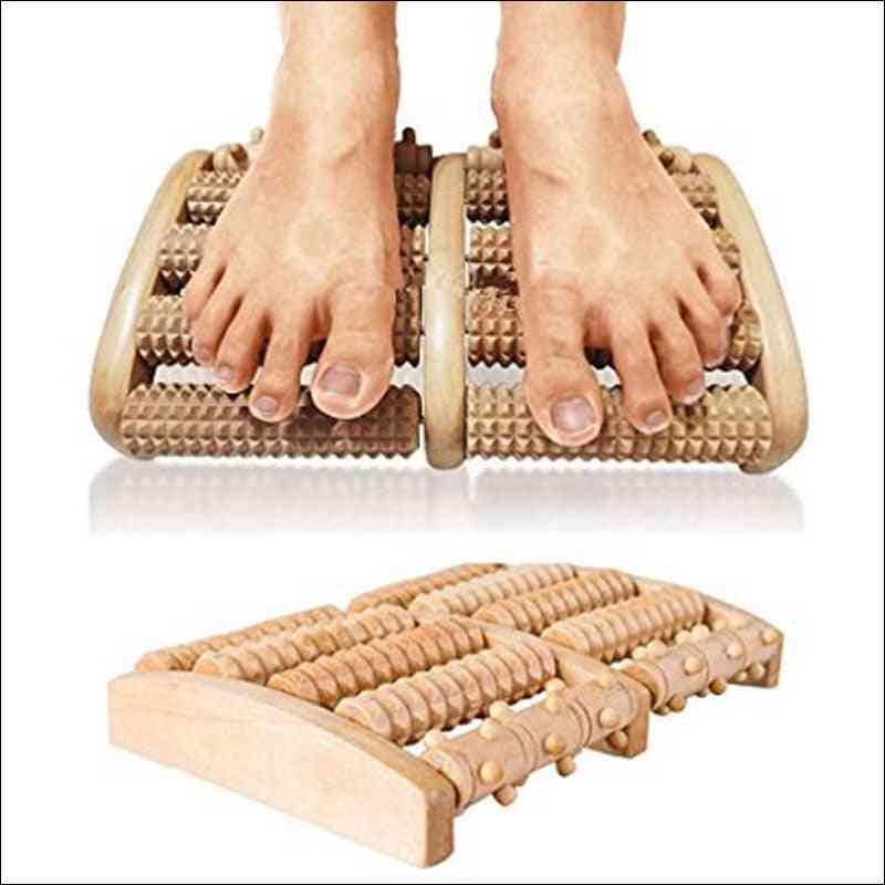 Wooden Roller Foot Massager  Sauna Kit