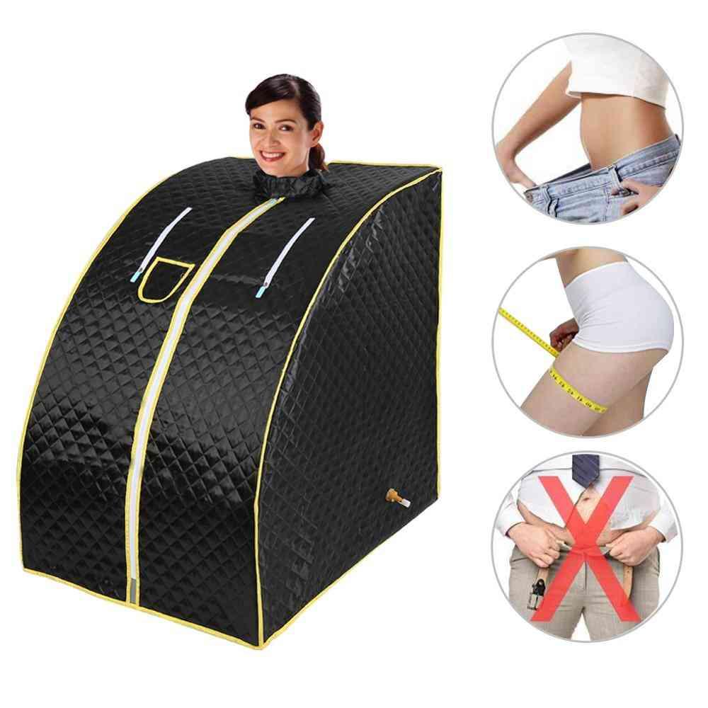 Portable Home Sauna Bath 1000w Fold Chair