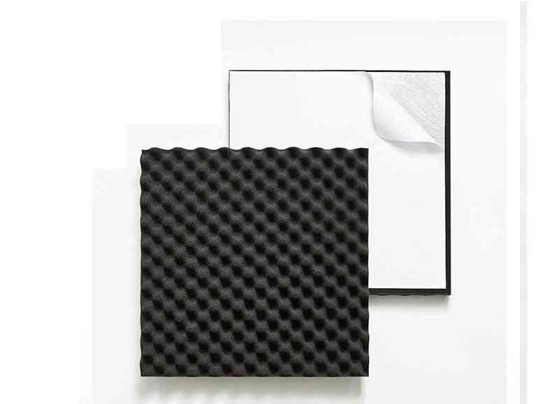 Self-adhesive Wave Acoustic Foam 10 Pcs/pack Soundproof Egg Foam For Home