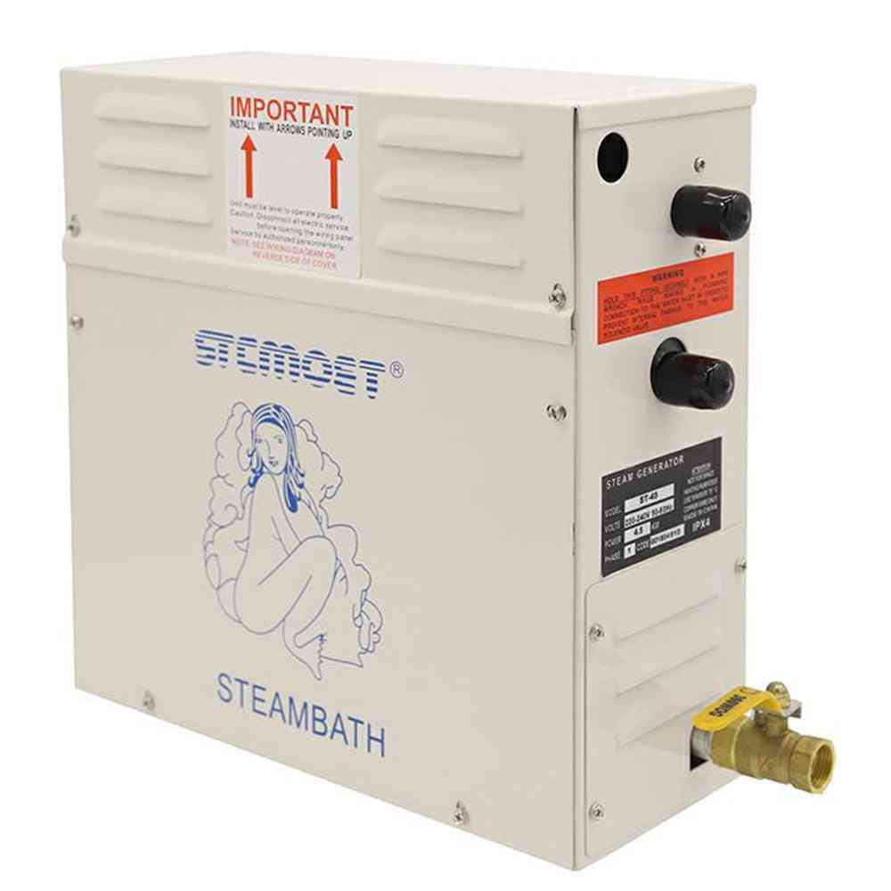 3kw/4.5kw Steam Generator Sauna Steam Bath Machine For Home 220v/380v With Digital Controller
