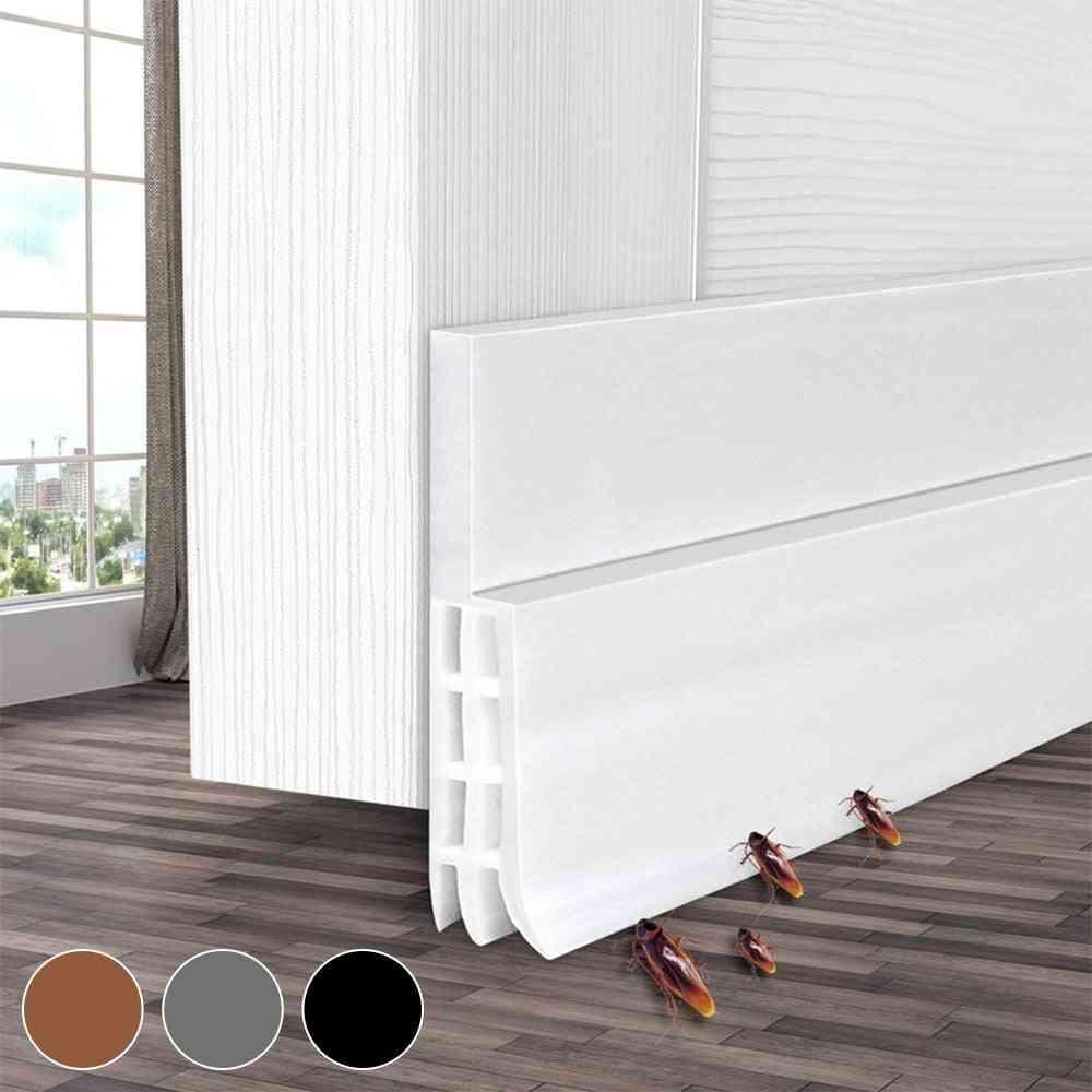 Under Door Stopper Weather Stripping Energy Saving Window Seal Strip Noise