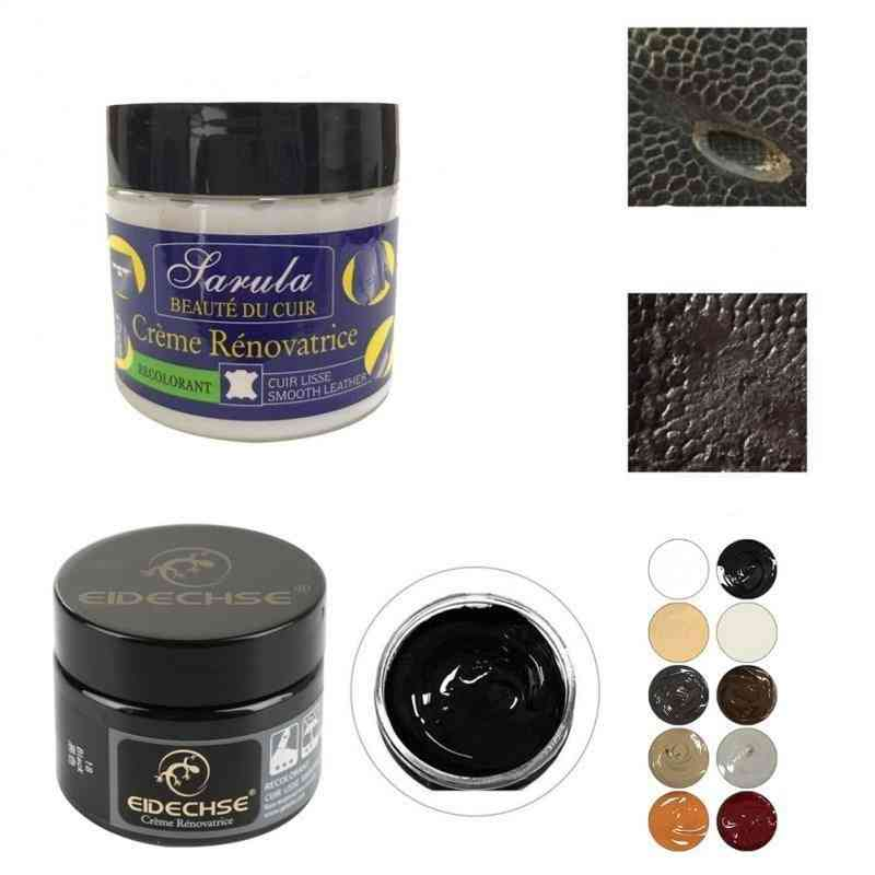 Car Leather Seat, Renovation Paste And Repair Cream, Faded Scratched Repair Tool