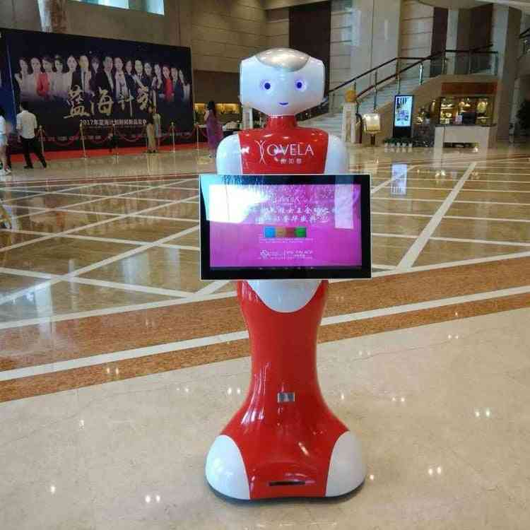 Humanoid English Speech Educational School Museum Shopping Mall Ail Voice Guide Robot