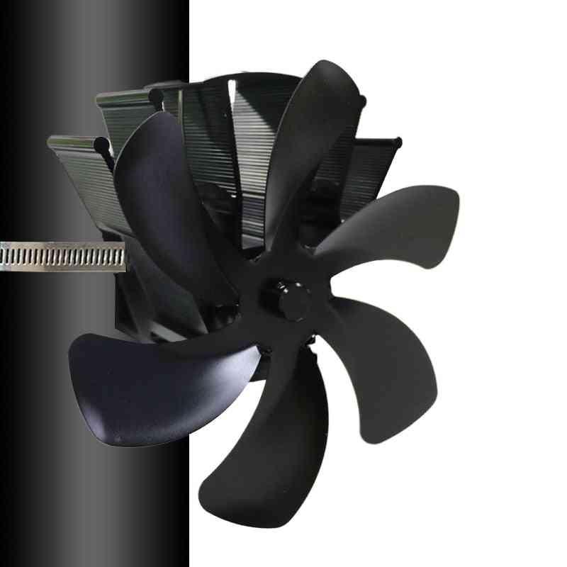 Fireplace Heat Powered Stove Fan