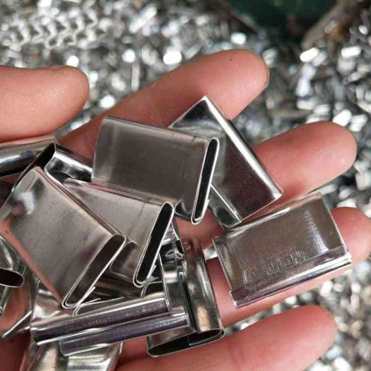 Metal Seals Packing Strap Clips, Buckle For Pp And Pet Straps