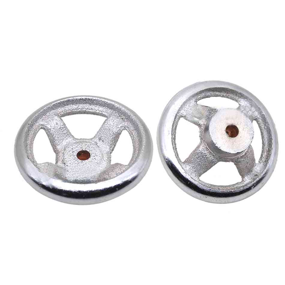 Spoke Round Iron Hand Wheel For Lathe, Milling Grinder