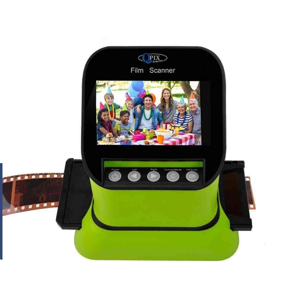 High Resolution 22 Mega Pixels 120 Slide Film Scanner