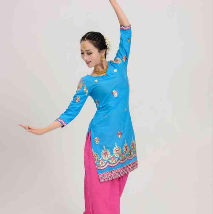 Cotton India Coat Punjabi Traditional Woman