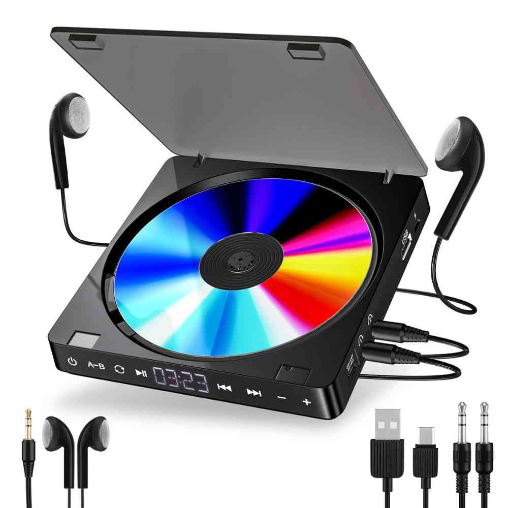 Sports Portable Player Rechargeable (black)