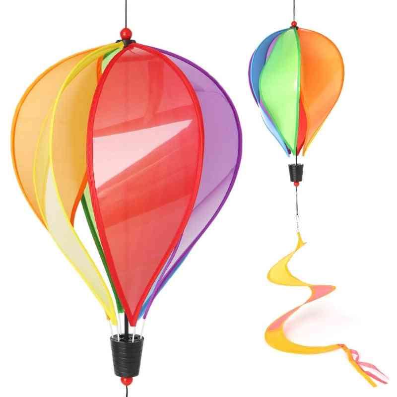 Windmill Spiral Garden Ornaments Colorful Balloon