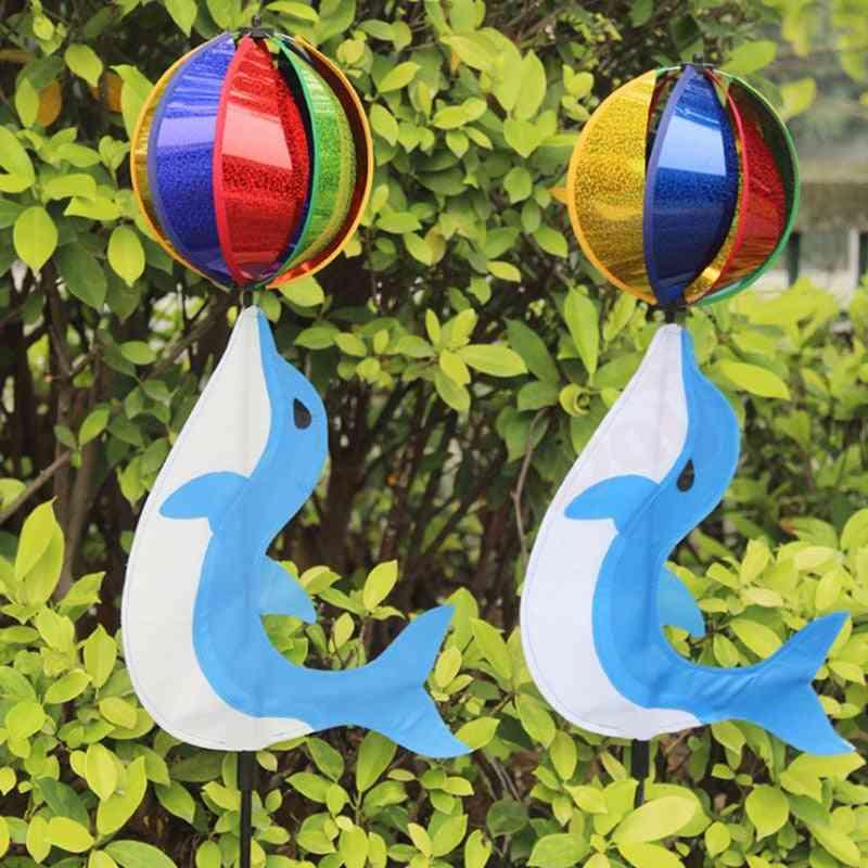 Colorful Rainbow Cute Cartoon Wind Spinner