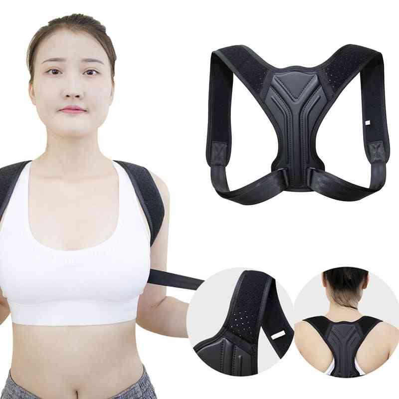 Posture Corrector Corset Clavicle Spine Shoulder Lumbar Support Belt Trainer Spine
