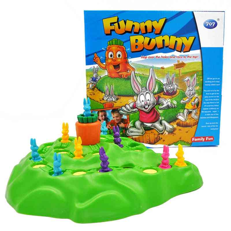 Rabbit Cross Country Puzzle Game (a)