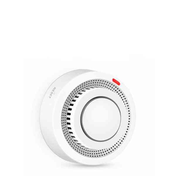 Tuya Wifi Smoke Detector Smokehouse Combination Fire Alarm Home Security System Firefighters Wifi Smoke Alarm Fire Protection (without Battery)