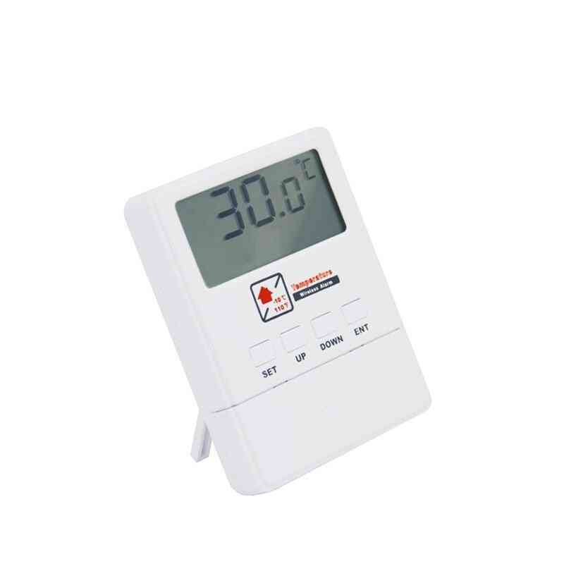 Wireless Temperature Detector With Lcd Display Work With Gsm Alarm System