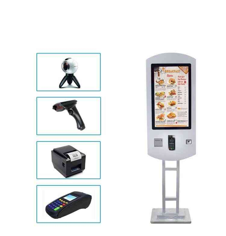 Restaurant Wifi Self Service Fast Food Ordering Kiosk