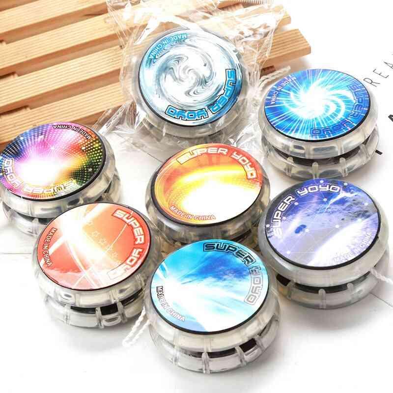 Plastic Alloy Luminous Yo-yo Led Glare Toy (1tm Led 1tz Led 1hj)