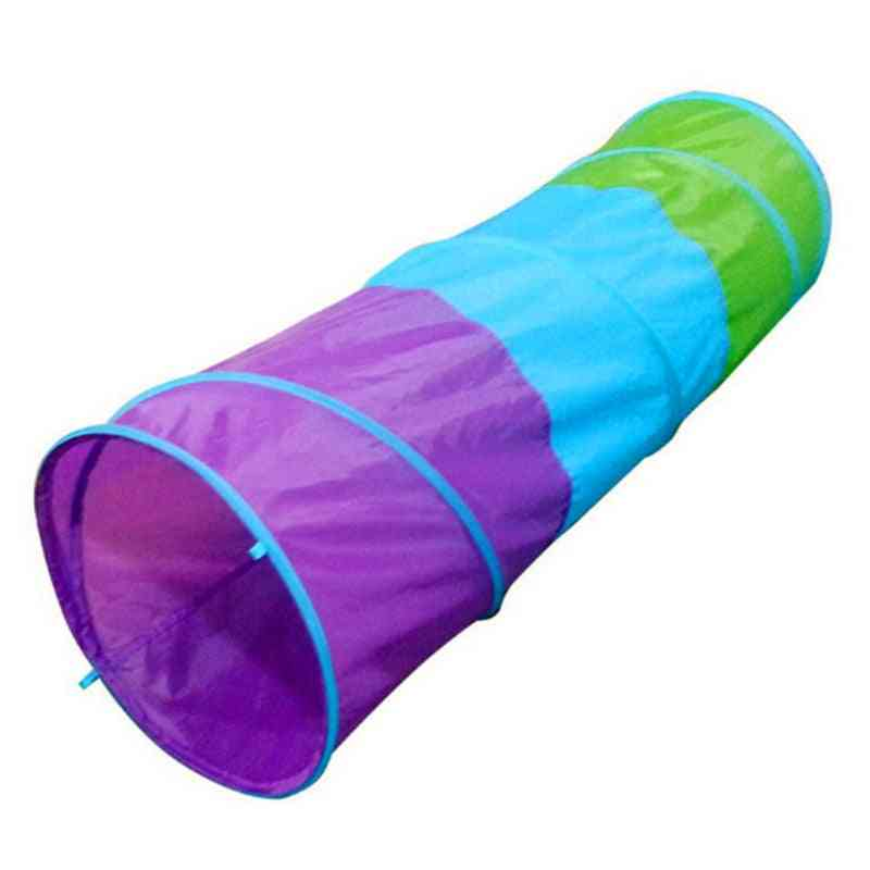 Portable Kids Tunnel Tents - Indoor Kids Play House