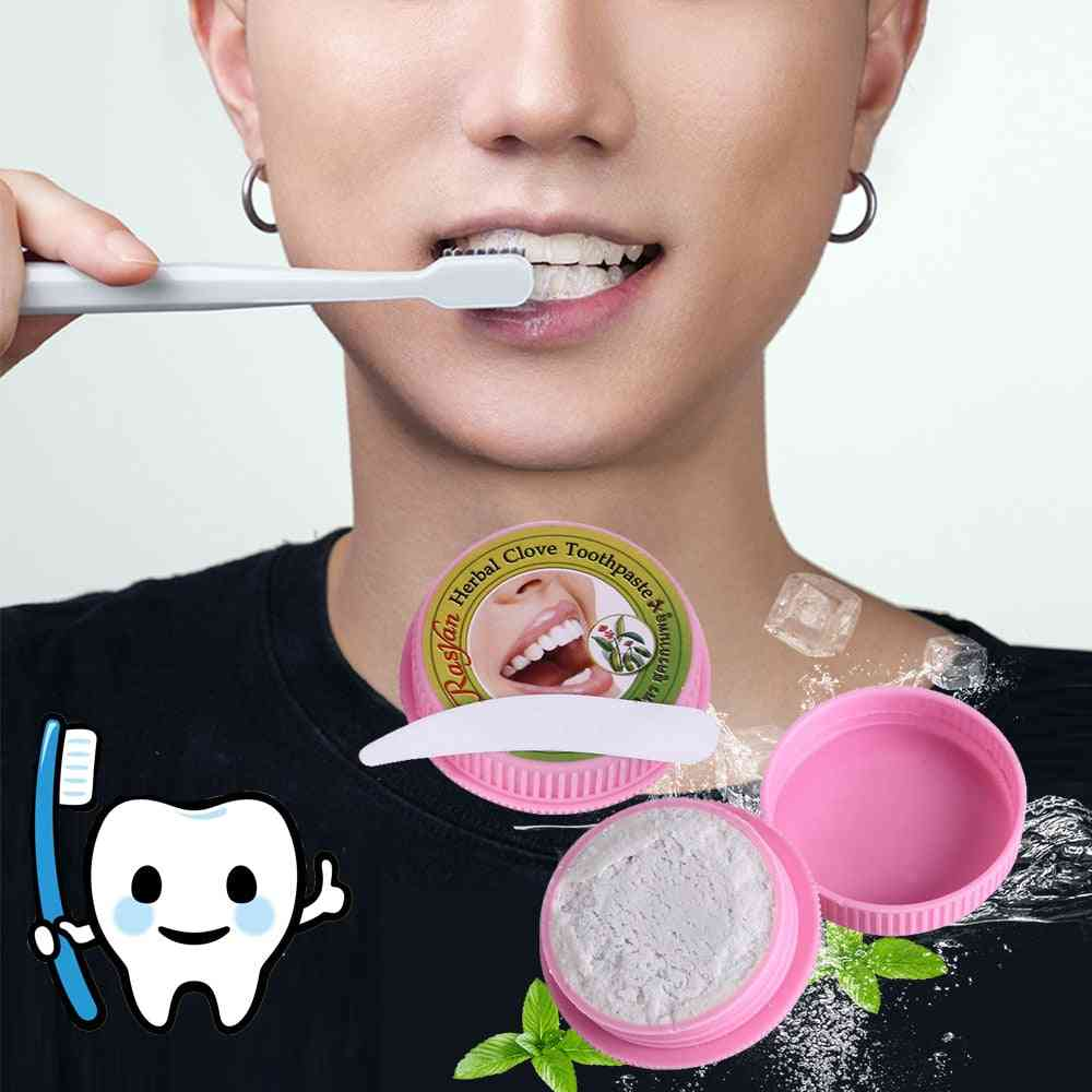 Stain Removal Whitening Natural Herbal Clove Toothpaste