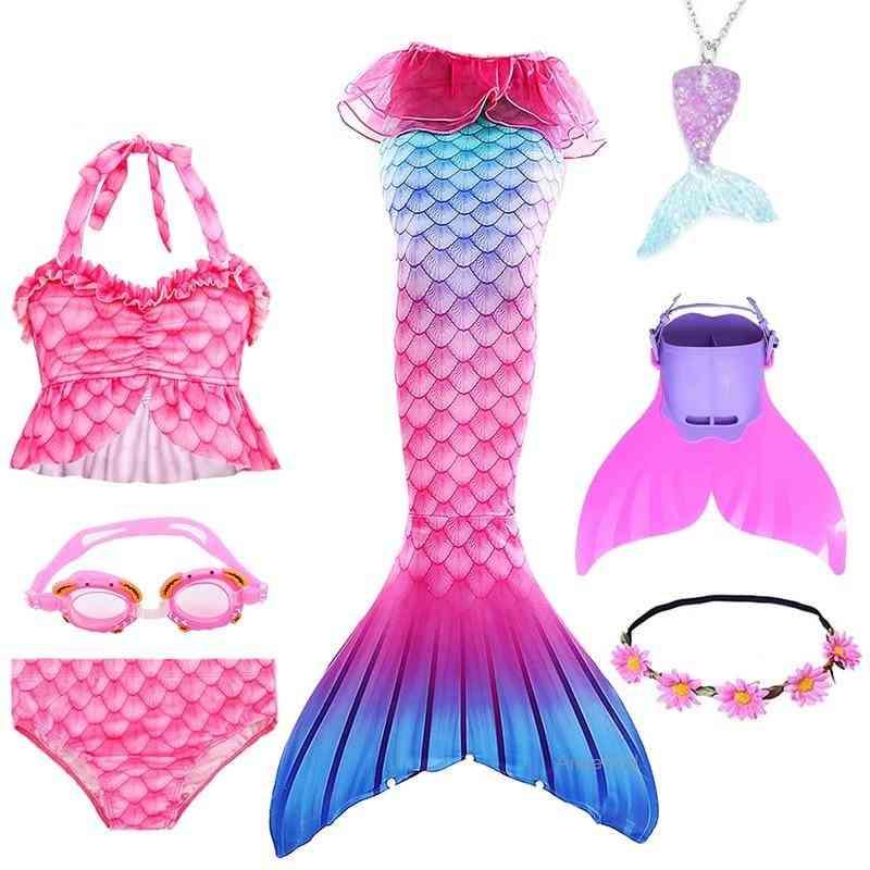 Swimmable Mermaid Tail Princess Dress