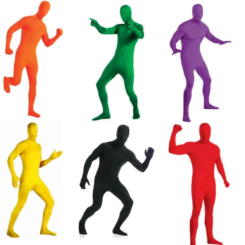 Men's Spandex Full Bodysuit
