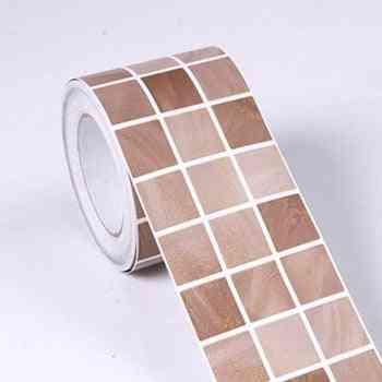 Pvc Black Mosaic Waterproof Wall Sticker