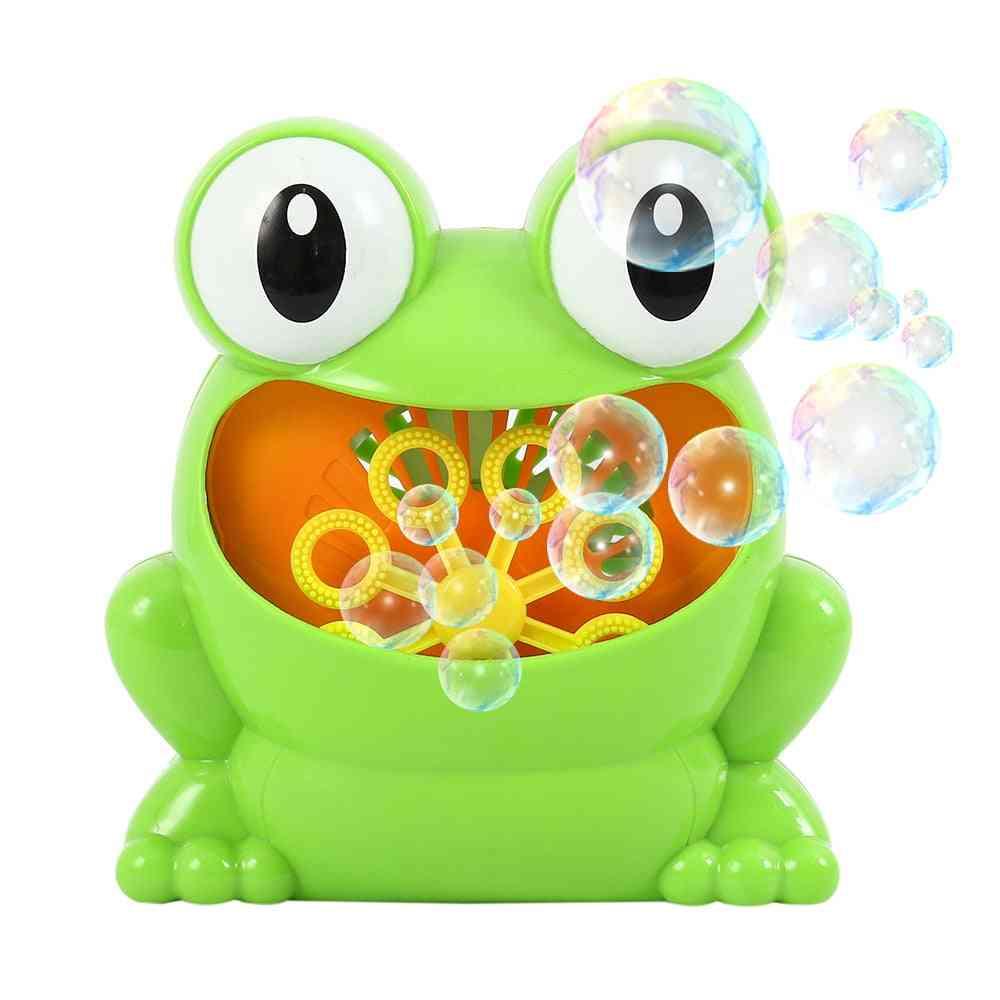 Bathtub Soap Automatic Bubble Maker Baby Bathroom Toy